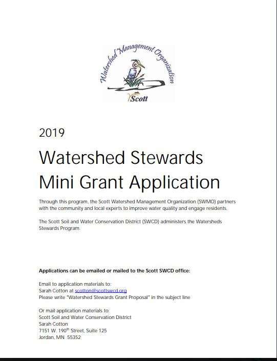 2019 Watershed Mini Grant imageJPG