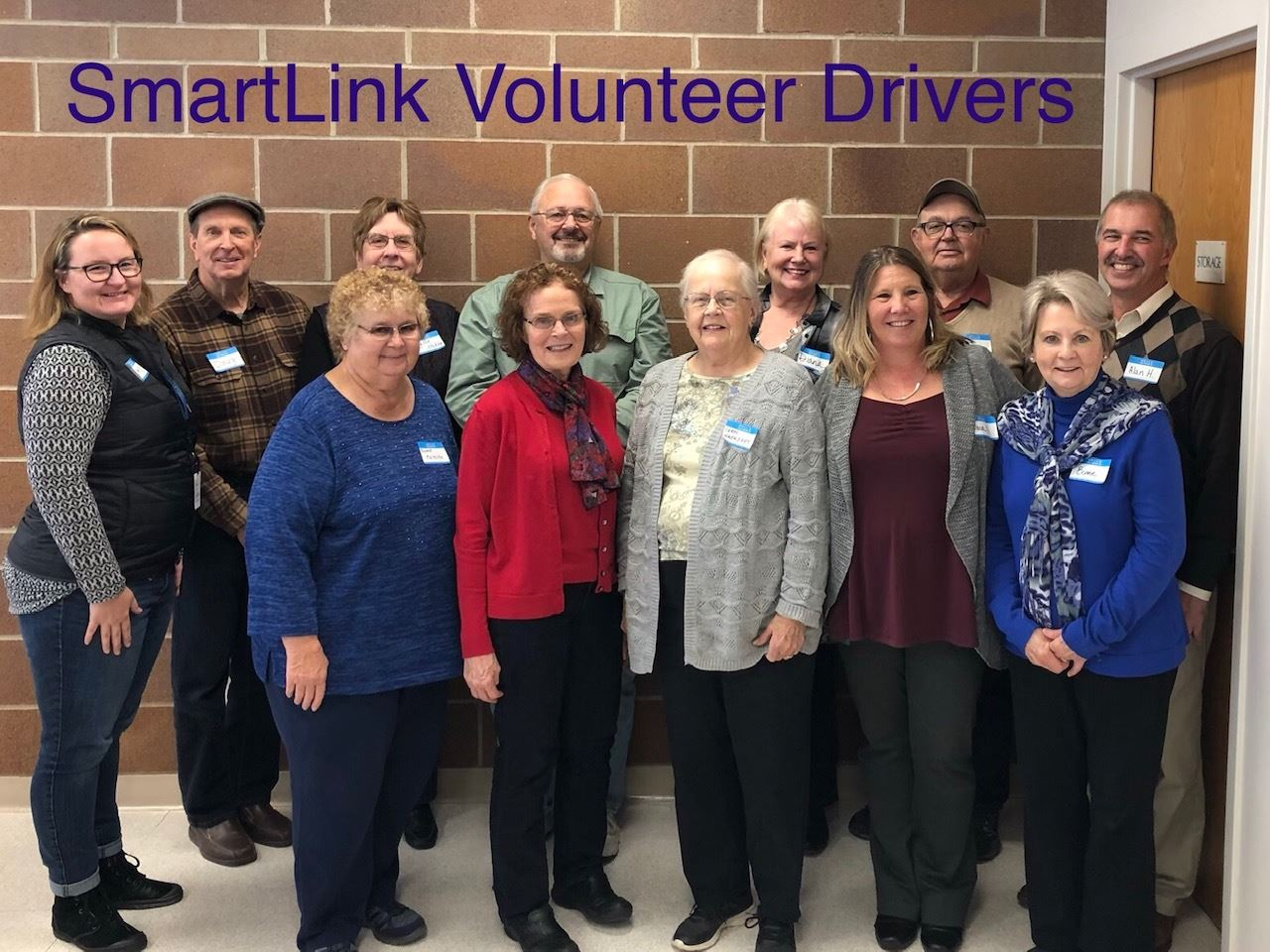 2019 SmartLink Volunteer Drivers