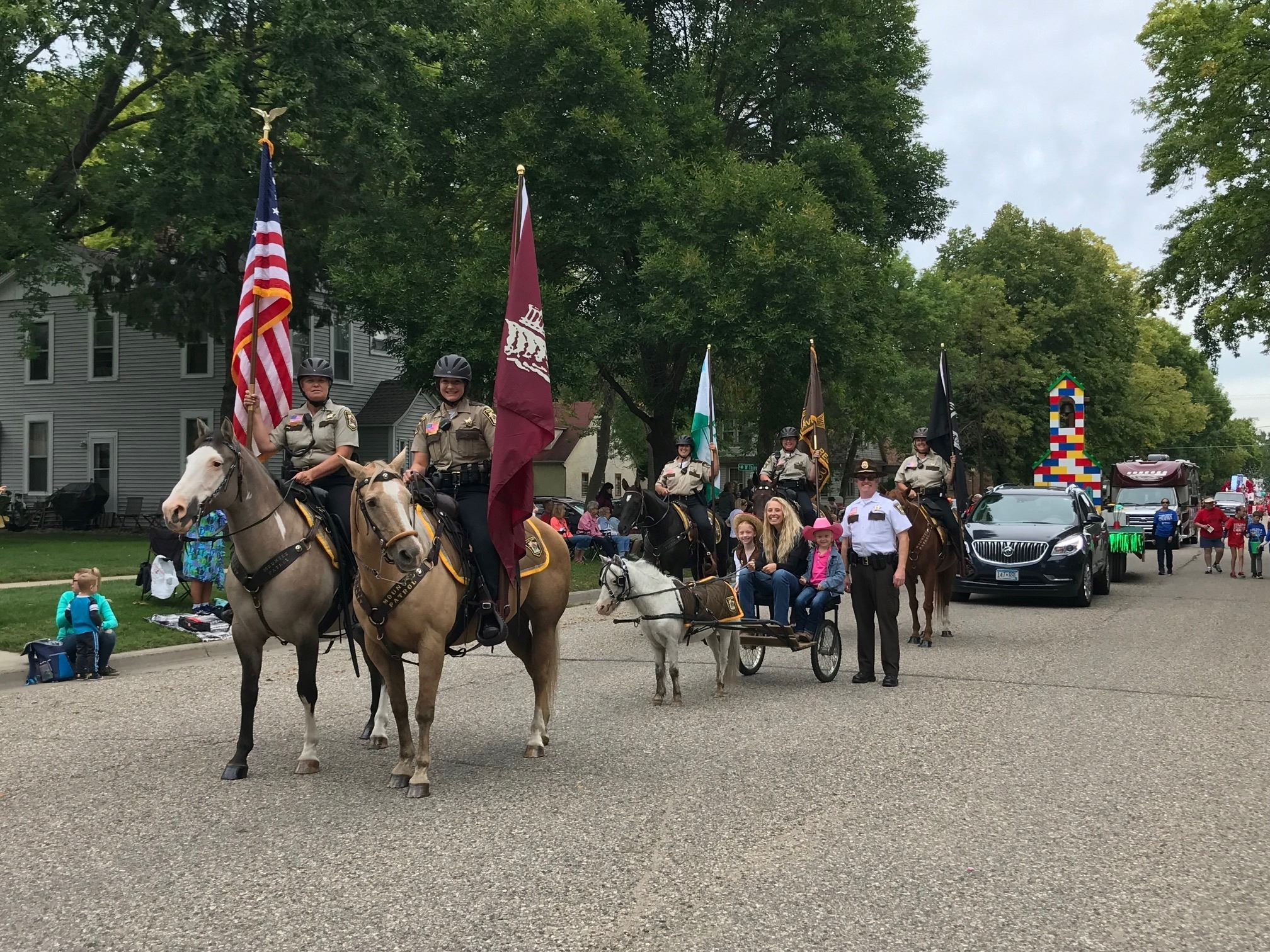2019 Mounted Patrol Volunteers