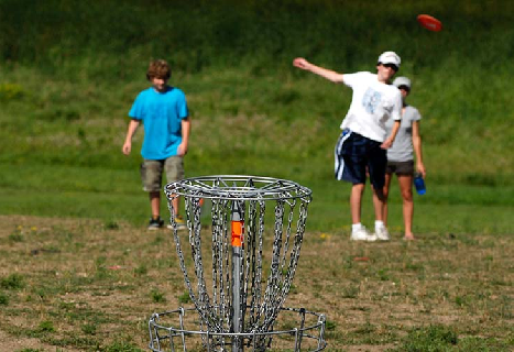 Cleary disc golf