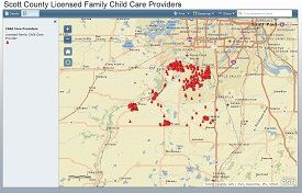 Licensed Family Child Care Provider Mapping Application